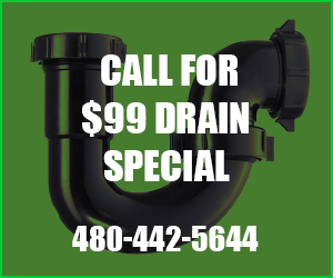 $99 Drain Special